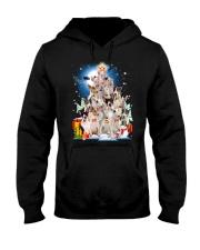 Bull Terrier Pine  Hooded Sweatshirt thumbnail
