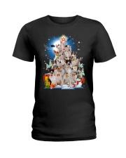 Bull Terrier Pine  Ladies T-Shirt thumbnail