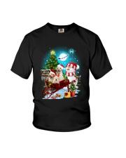 Labrador Retriever and snowman funny Youth T-Shirt thumbnail