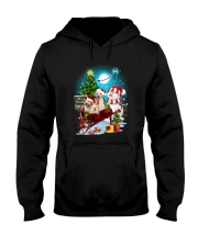 Labrador Retriever and snowman funny Hooded Sweatshirt thumbnail