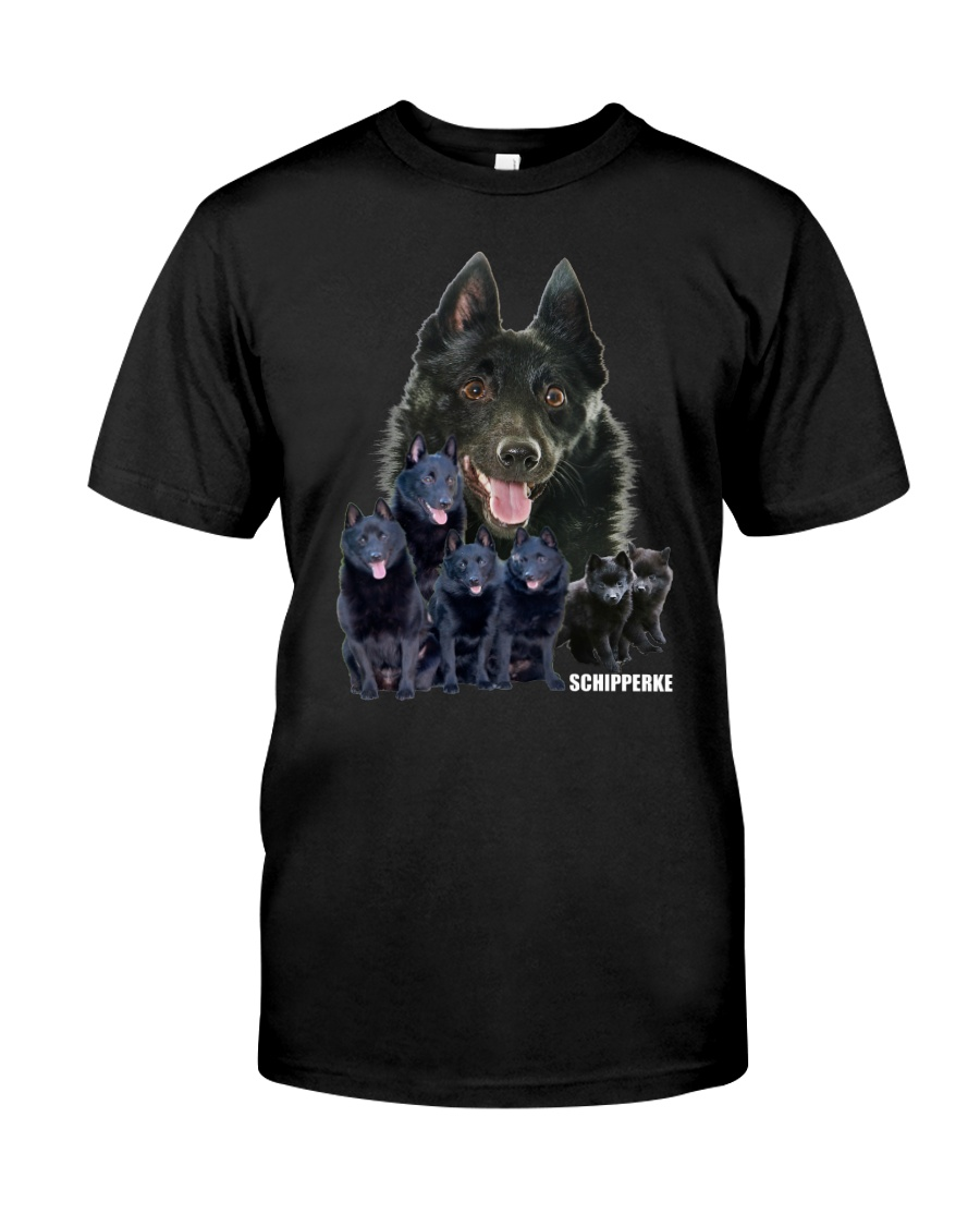 Schipperke Awesome Family 0701 Classic T-Shirt