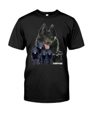 Schipperke Awesome Family 0701 Classic T-Shirt front
