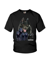 Schipperke Awesome Family 0701 Youth T-Shirt thumbnail