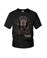 Flat-Coated Retriever Awesome Family 0701 Youth T-Shirt thumbnail