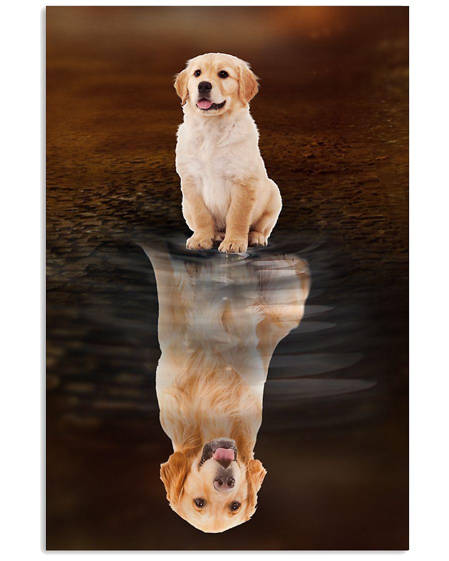 Golden Retriever Believe 11x17 Poster