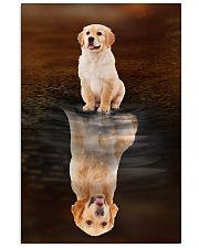 Golden Retriever Believe 11x17 Poster front