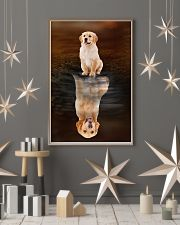 Golden Retriever Believe 11x17 Poster lifestyle-holiday-poster-1