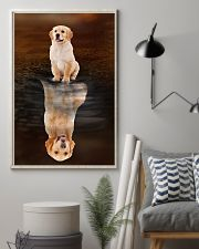 Golden Retriever Believe 11x17 Poster lifestyle-poster-1
