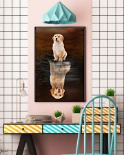 Golden Retriever Believe 11x17 Poster lifestyle-poster-6