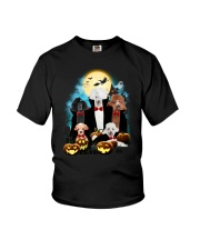 Poodle Dracula Family - Theia 1508 Youth T-Shirt thumbnail