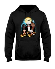 Poodle Dracula Family - Theia 1508 Hooded Sweatshirt thumbnail