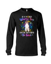 Beagle and hippie Long Sleeve Tee thumbnail