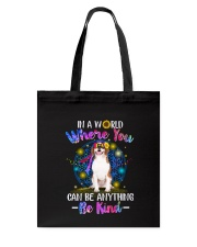 Beagle and hippie Tote Bag thumbnail