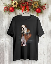Bulldog In Dream Classic T-Shirt lifestyle-holiday-crewneck-front-2