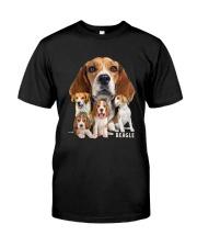 Beagle Awesome Family 0501 Classic T-Shirt front