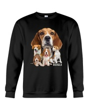 Beagle Awesome Family 0501 Crewneck Sweatshirt thumbnail
