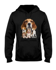 Beagle Awesome Family 0501 Hooded Sweatshirt thumbnail
