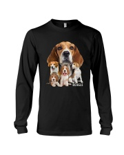 Beagle Awesome Family 0501 Long Sleeve Tee thumbnail