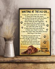 Irish Setter Waiting at the Door 11x17 Poster lifestyle-poster-3