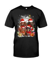 ZEUS - Dachshund Christmas- 2809 - 73 Classic T-Shirt thumbnail