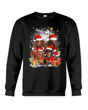 ZEUS - Dachshund Christmas- 2809 - 73 Crewneck Sweatshirt thumbnail