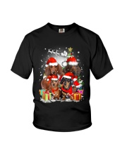 ZEUS - Dachshund Christmas- 2809 - 73 Youth T-Shirt thumbnail