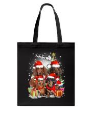 ZEUS - Dachshund Christmas- 2809 - 73 Tote Bag thumbnail