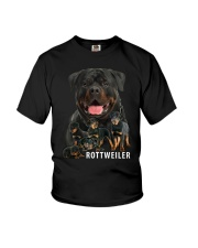 Rottweiler Awesom Family 0701 Youth T-Shirt thumbnail