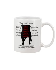 Pit Bull - The truth Mug front