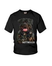 Rottweiler Awesome Youth T-Shirt thumbnail