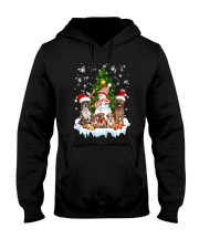 Staffie Family 2109 Hooded Sweatshirt thumbnail