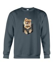 Pomeranian Pocket 1012 Crewneck Sweatshirt thumbnail