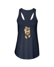 Pomeranian Pocket 1012 Ladies Flowy Tank thumbnail