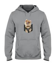 Pomeranian Pocket 1012 Hooded Sweatshirt thumbnail