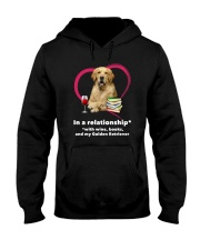 In A Relationship Golden Retriever  Hooded Sweatshirt thumbnail