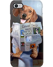 Dachshund Newspapers Poster 0501 Phone Case thumbnail