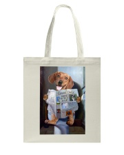 Dachshund Newspapers Poster 0501 Tote Bag thumbnail