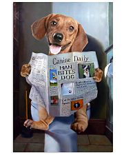 Dachshund Newspapers Poster 0501 11x17 Poster front