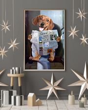 Dachshund Newspapers Poster 0501 11x17 Poster lifestyle-holiday-poster-1