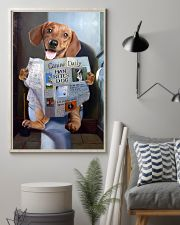 Dachshund Newspapers Poster 0501 11x17 Poster lifestyle-poster-1