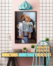 Dachshund Newspapers Poster 0501 11x17 Poster lifestyle-poster-6