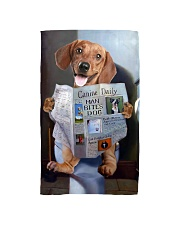 Dachshund Newspapers Poster 0501 Hand Towel thumbnail