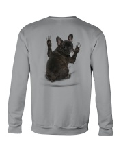 French Bulldog Scratch 1412 Crewneck Sweatshirt back