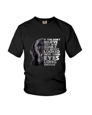 Labrador Retriever and eyes Youth T-Shirt tile