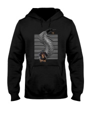 Dachshund Play Time 0210  Hooded Sweatshirt thumbnail