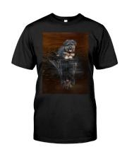 Bergamasco Shepherd Reflection Mug 1312 Classic T-Shirt thumbnail