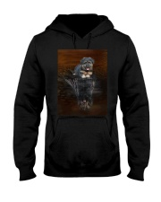 Bergamasco Shepherd Reflection Mug 1312 Hooded Sweatshirt thumbnail