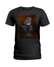 Bergamasco Shepherd Reflection Mug 1312 Ladies T-Shirt thumbnail