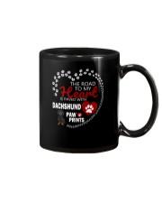 Dachshund Road To My Heart Mug thumbnail