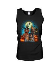 Dachshund Halloween Unisex Tank thumbnail